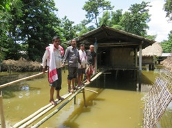 Severe Flooding Hits Community Care Programs and Helpers in Northeast India